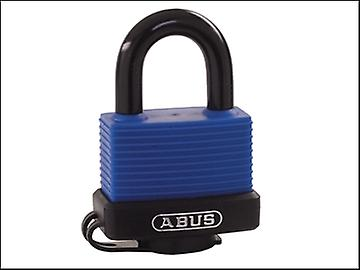 ABUS 70IB/50 50mm Brass Marine Padlock Stainless Shackle Keyed 6401