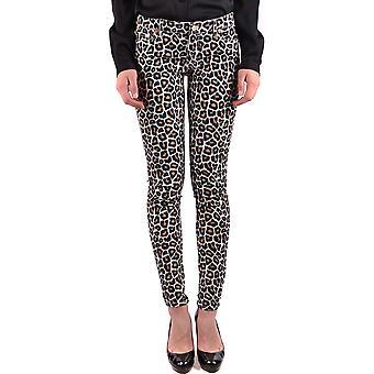 Michael Kors Leopard Cotton Jeans