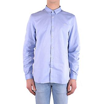 Fred Perry Light Blue Cotton Shirt