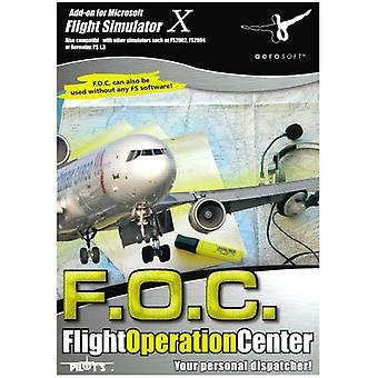 Flight operation Center add-on til FS 2004FSX (PC CD)-fabriks forseglet