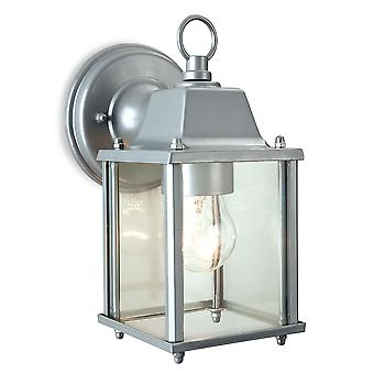 Firstlight - 1 Light Lantern - Wall Light Silver - 8666SI