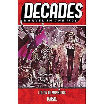 Dekady: Marvel w latach 70-tych-Legion of Monsters
