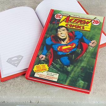 DC Comics Comic Book Superman 3D Lenticular Notebook