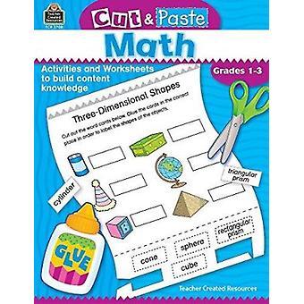 Cut and Paste Math (Cut & Paste) Book