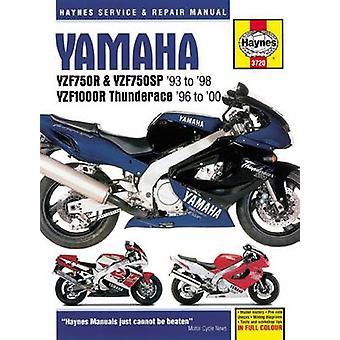 Yamaha YZF750R Motorcycle Repair Manual - 9781785213090 Book