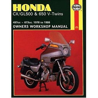 Honda CX/GL500 and 650 V-Twins 1978-86 Owner's Workshop Manual by Jer