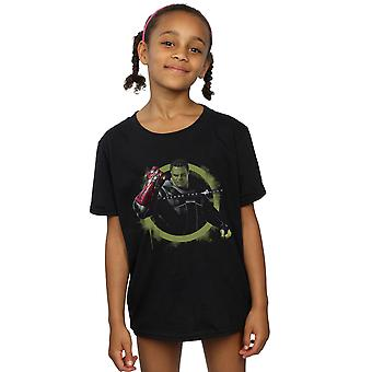 Marvel Girls Avengers Endgame Hulk Nano Gauntlet T-Shirt