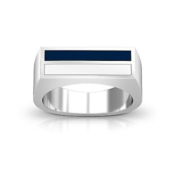 San Diego Padres Enamel Ring In Dark Blue And White