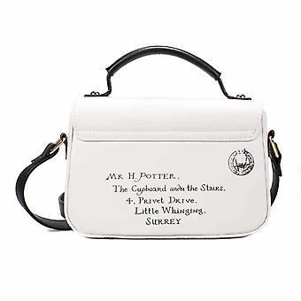 Harry Potter Satchel Bag Mini Hogwarts Letters Privet Drive new Official White