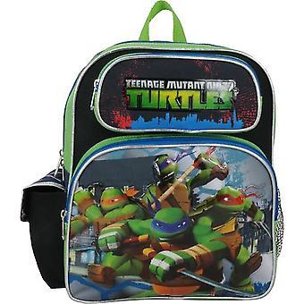 Small Backpack - Teenage Mutant Ninja Turtles - Green/Black New 658748