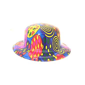 Swirls - Heart and Star Bowler Hat