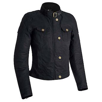 Oxford Black Holwell 1.0 Womens Motorcycle Jacket