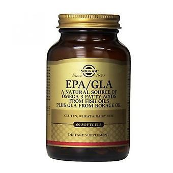 Solgar EPA/GLA Softgels 60 (1767)