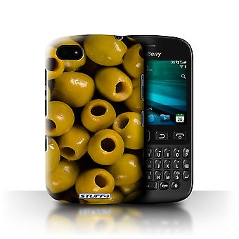 STUFF4 Case/Cover voor Blackberry 9720/olijven/Food