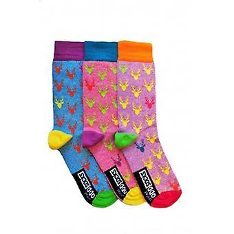 United Oddsocks Set of 3 Stag Socks