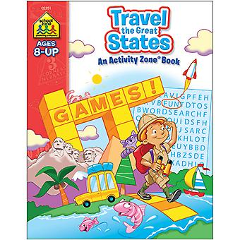 Workbooks A Z Travel The Great States Szwkbk 2351
