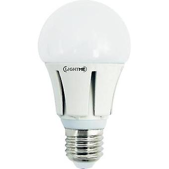 LED E27 Arbitrary 10 W = 64 W Warm white (Ø x L) 60 mm x 114 mm EEC: A+ LightMe 1 pc(s)
