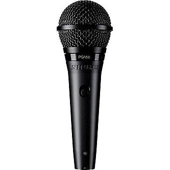 Handheld Microphone set Shure PGA58BTS Transfer type:Corded incl. cable