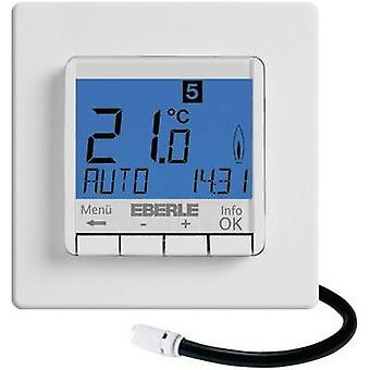 Room thermostat Flush mount 7 day mode 10 up to 40 °C Eberle