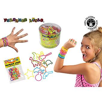 Rubie's Locas bracelets Forms (Toys , Home And Professions , Makeup And Accessoiries)