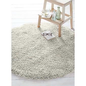 Super Soft Sumptous Cream Shaggy Rug