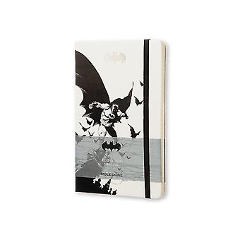 Moleskine Batman Notebook Large Ruled White (Hardcover) by Moleskine S.P.A.