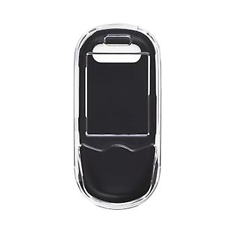 Two piece Hybrid Snap-On Case for Samsung SGH-T249 (Clear / Black)