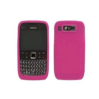 Wireless Solutions Silicone Gel Skin Case for Nokia E73 - Watermelon
