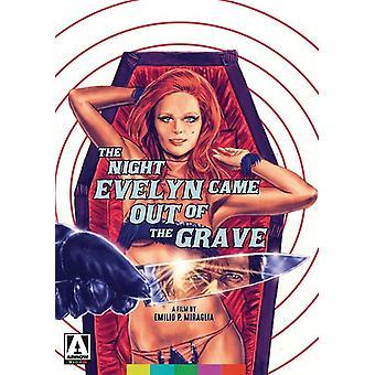 Nat Evelyn kom ud af graven [DVD] USA importerer