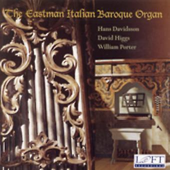 Eastman italiensk barok orgel - Eastman italiensk barok orgel [CD] USA importerer