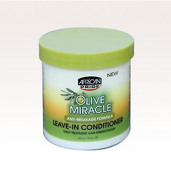 African Pride Olive Miracle Leave In Conditioner 425 Gr