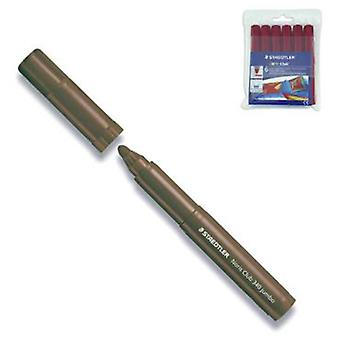 Staedtler Estuche 6 Marcadores Watercolor Marron