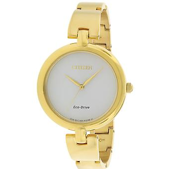 Citizen Eco-Drive Silhouette Ladies Watch EM0222-82A