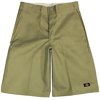 Dickies 13 inch Multi Pocket Work Shorts Khaki