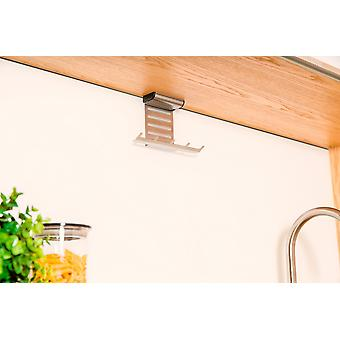 Kitchen accessories holder stainless steel hanging storage hanging approximately 19.9 x 5.5 x 11 cm