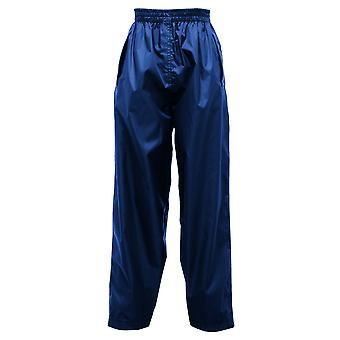 Regatta Great Outdoors Kids Boys Adventure Tech Pack It Waterproof Overtrousers
