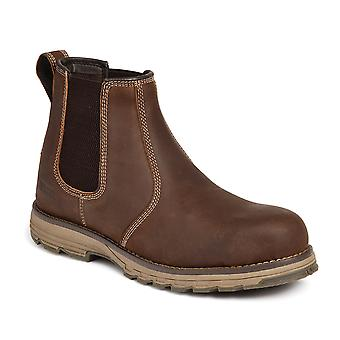 Brown Water Resistant Dealer Boot