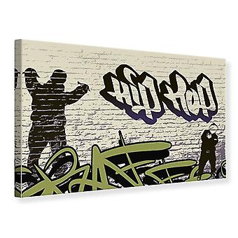 Canvas Print Graffiti Hip Hop