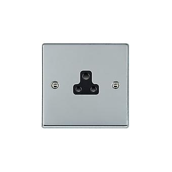Hamilton Litestat Hartland Bright Chrome 1g 2A Unswitched Socket BL