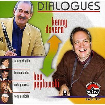 Davern/Peplowski - Dialogues [CD] USA import