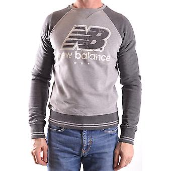 New balance men's MCBI221008O grey cotton sweater