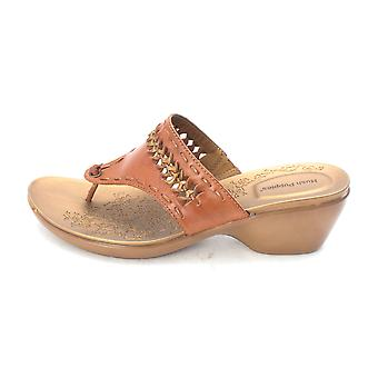 Hush Puppies Womens Twisted Open Toe Casual Slide Sandals