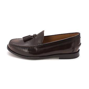 Cole Haan Mens Pinch Classic Tassel Leather Closed Toe Penny Loafer