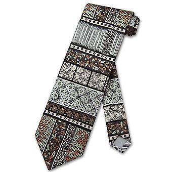 Antonio Ricci SILK NeckTie Made in ITALY Geometric Design Men's Neck Tie #3106-3