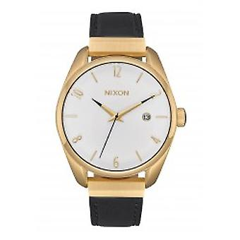 Nixon The Bullet Leather Luxe Gold / Black (A1185-513)