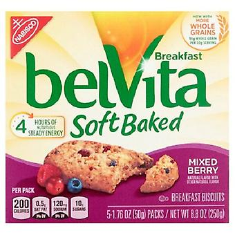 Belvita Breakfast Soft Baked Mixed Berry 2 Box Pack