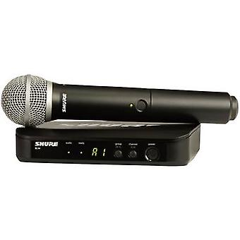 Wireless microphone set Shure BLX24E/PG58-S8 Transfer type:Radio