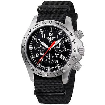 KHS watches mens watch platoon chronograph LDR KHS. PCLDR.NB