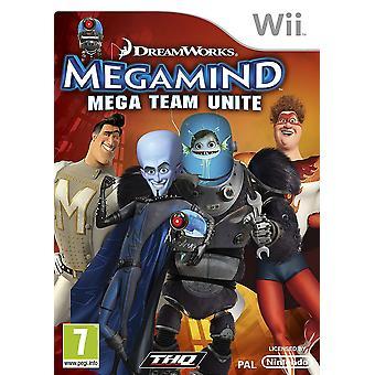DreamWorks Megamind Mega hold forene Nintendo Wii spil