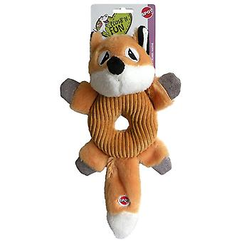 Agrobiothers Dog Toy Fox Donut Crinkler Spot (Dogs , Toys & Sport , Stuffed Toys)